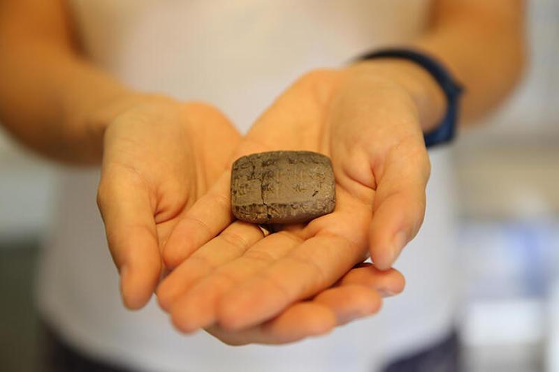 Hatay'da 3.400 Yıllık Çivi Yazılı Tablet Bulundu